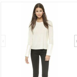 Veda alfie Sweater Cashmere Leather Sweater
